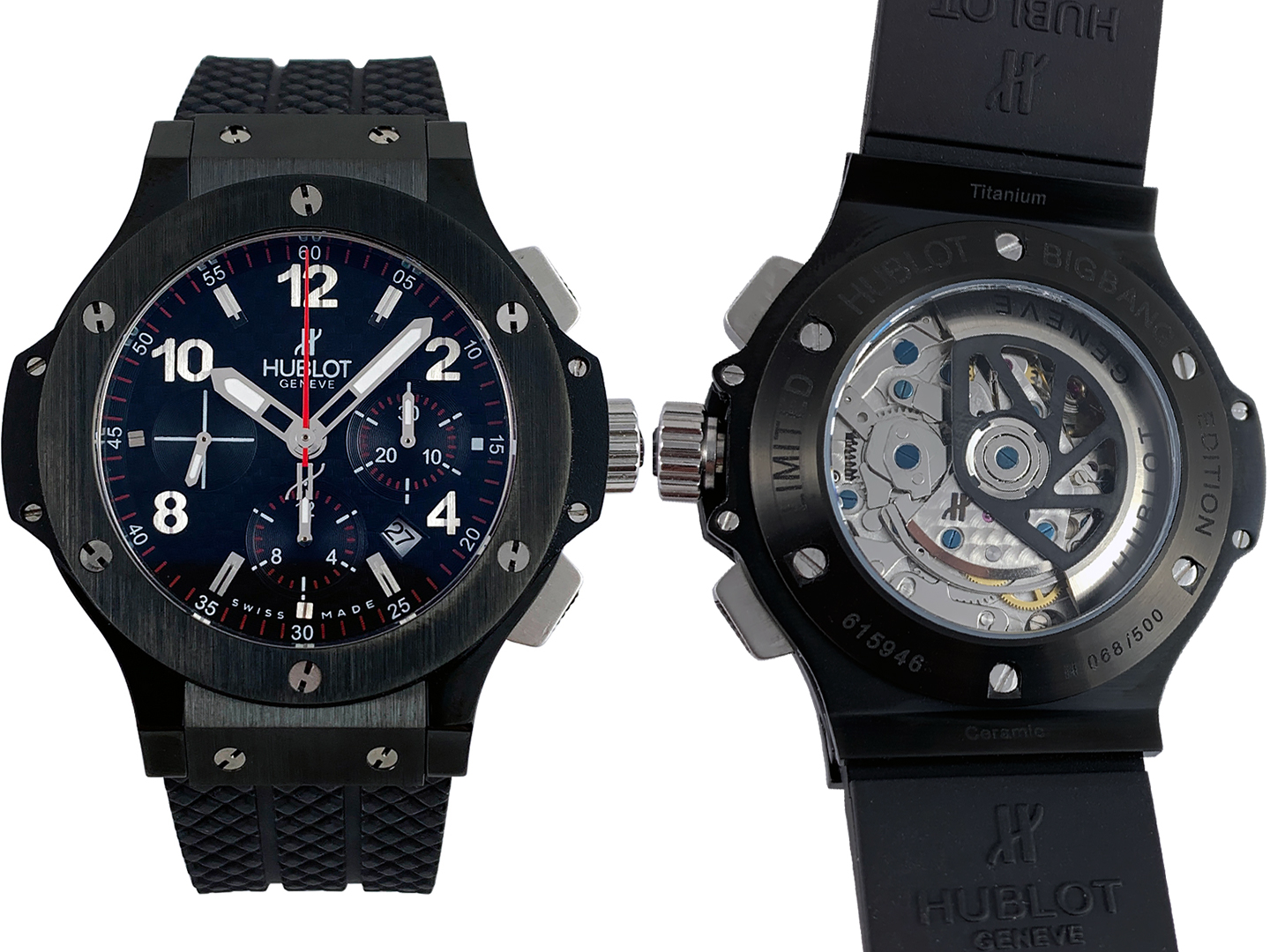 Hublot Big Bang Black Magic 1065ETA