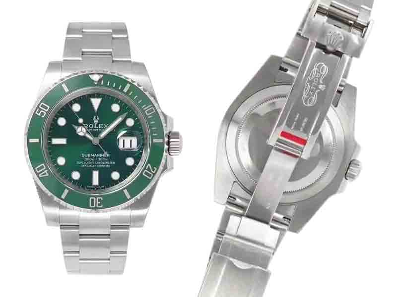 V10 Noob Rolex Submariner Date Green 1072ETA