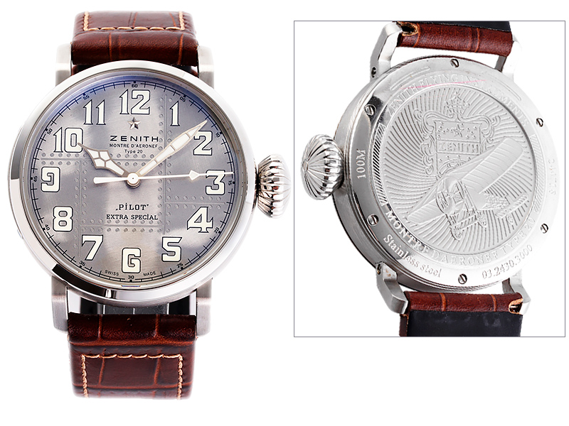 Zenith Pilot Type 20 Extra Special Silver Limited Edition 1089ET