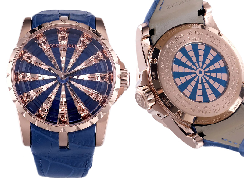 Roger Dubuis Excalibur The Knights of the Round Table 1107ETA