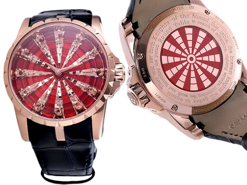 Roger Dubuis Excalibur The Knights of the Round Table 1108ETA