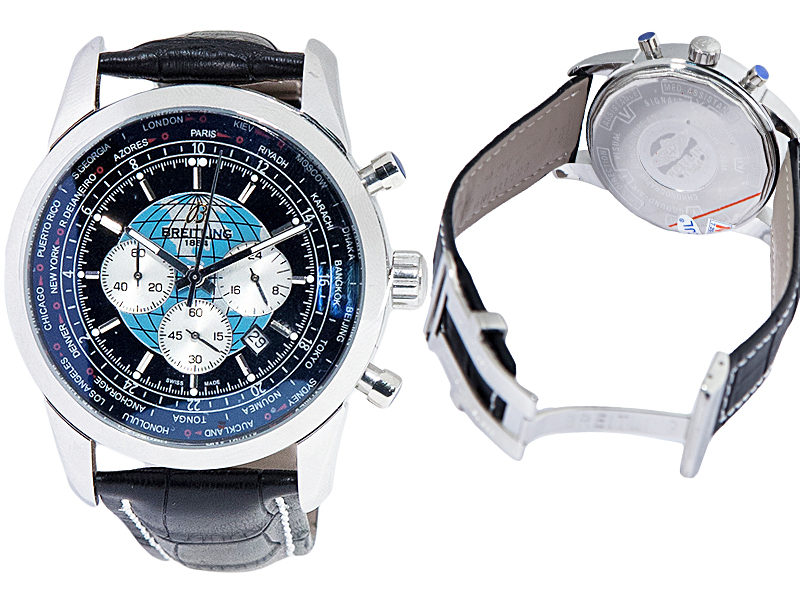 Breitling  Transocean Chronograph Unitime 635