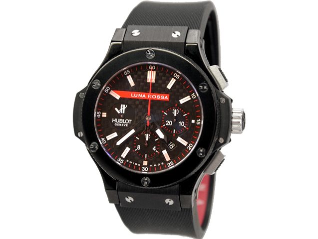 "Hublot Big Bang All Black ""Luna Rossa"" 500ETA"