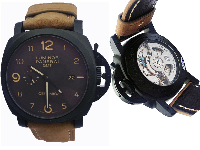 Panerai Luminor 1950 3 Days GMT Ceramica 657ETA