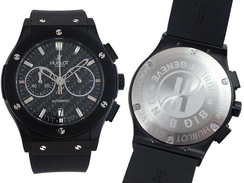 Hublot Classic Fusion Chronograph Black Magic 803