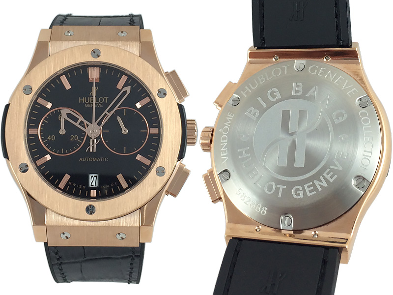 Hublot Classic Fusion Chronograph King Gold 816