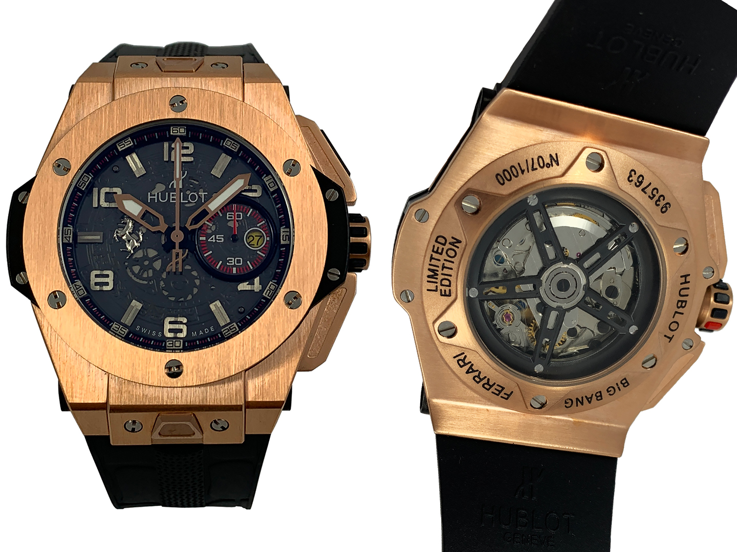 Hublot Big Bang Ferrari Gold 921ETA