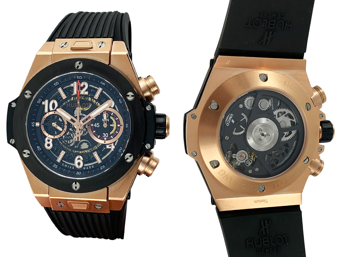 Hublot Big Bang Unico King Gold Ceramic 978ETA