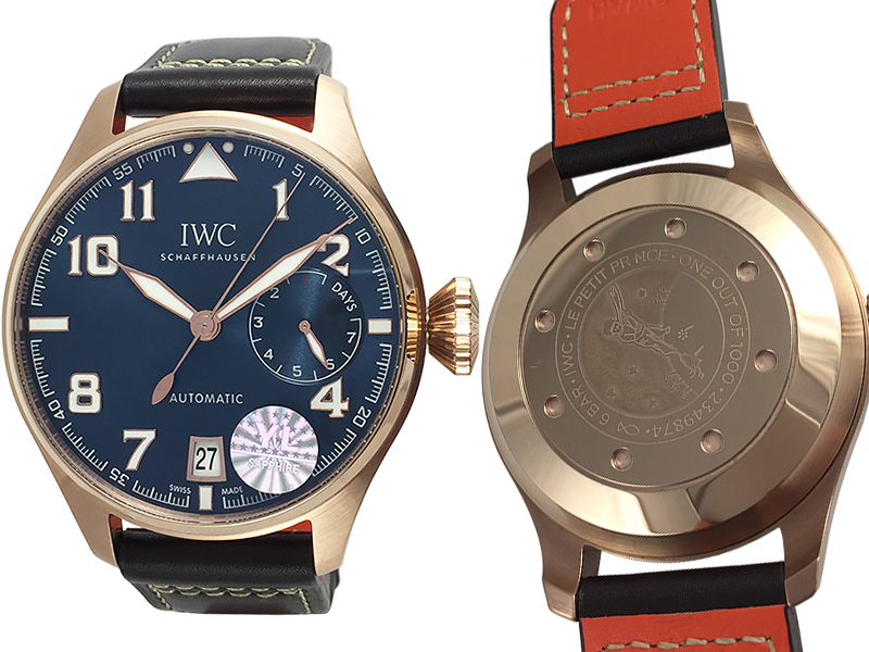 "IWC Big Pilot's Watch ""Le Petit Prince"" Red Gold 934ETA"