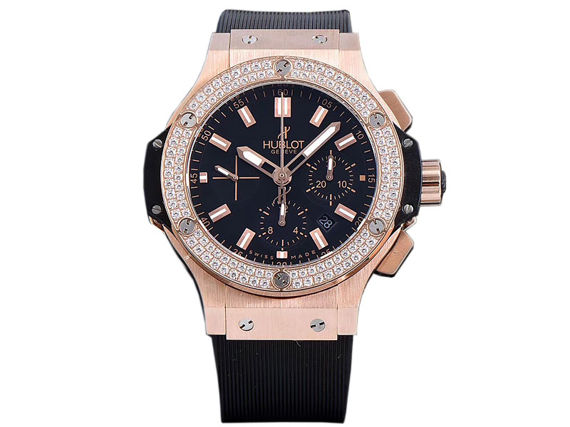 Hublot Big Bang Evolution Rotgold Diamanten 941ETA
